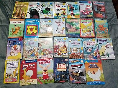 Lot 43 Hello Reader I Can Read Step Into Reading Scholastic Level 1