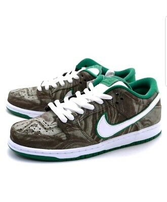 9fb8cf95cfb09a ... netherlands new nike dunk low premium sb starbucks mudslide coffee mens  shoes sz 10 1 2