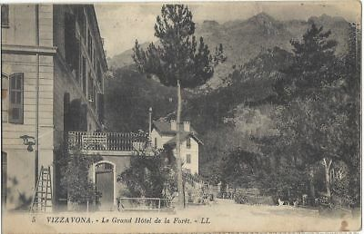 CPA - Corse - VIZZAVONA - Grand hôtel de la forêt - Collection Levy n°5