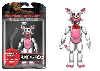 """Funko Articulated Action Figure Five Nights At Freddy's Funtime Foxy 5"""""""