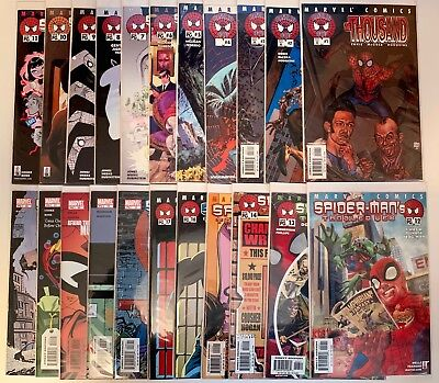 Spiderman's Tangled Web 1-22 Marvel 2001 VF/NM Complete The Thousand Rhino