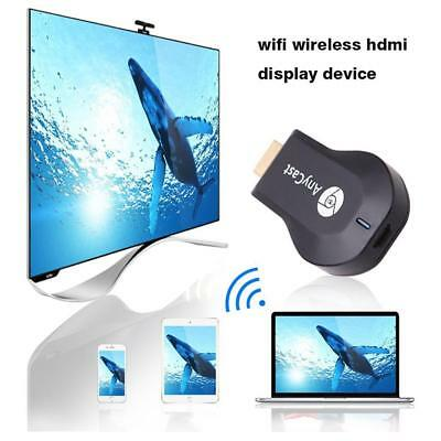 USB AnyCast WiFi Display Dongle Receiver 1080P HDMI TV DLNA Airplay Miracast