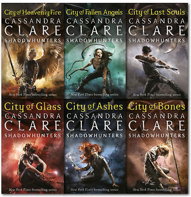 The Mortal Instruments by Cassandra full series(6 Books):PDF,EPUB Version