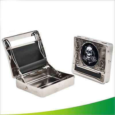 Ghost TIN Automatic Cigarette Tobacco Rolling Machine Box 70mm Roller Roll