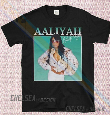af2f31a53 Inspired By AALIYAH Baby Girl T-shirt Merch Tour Limited Vintage Rare  Gildan dk3