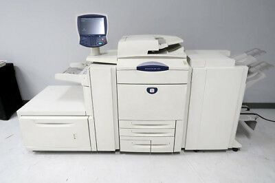 Xerox DC250 DocuColor Digital Color Printer Fiery Rip Low 1.5m Count