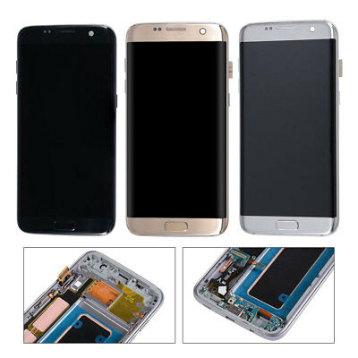 LCD Touch Screen Display + Frame For Samsung Galaxy S7 Edge G935F/G935A/G935V