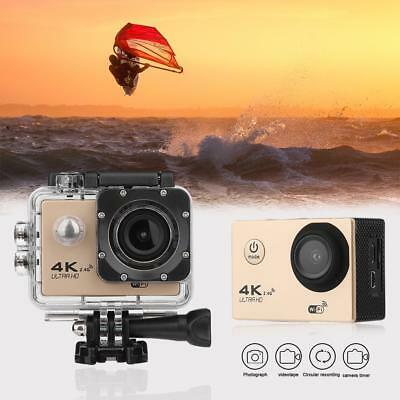 4K WIFI Action Camera 1080P HD 16MP 170° Wide Angle 30m Sport DV Cam for GOPRO
