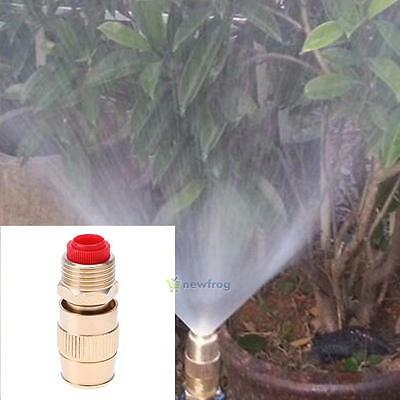 1/2 Inch Brass Adjustable Sprinkler Garden Lawn Atomizing Water Sprayer Nozzle