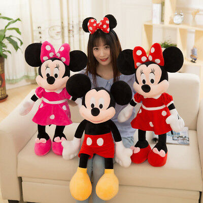Cute Mickey Mouse Minnie Mouse Disney Plush Stuffed Toy Doll Kid Birthday gifts