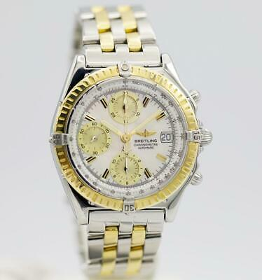 Breitling Chronomat D13352 MOP 40mm 18k YG Stainless Steel Automatic Men's Watch