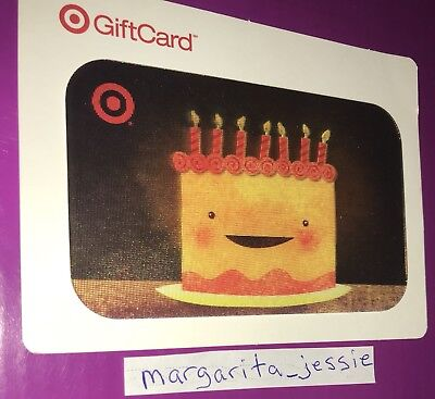 Target Lenticular Gift Card 2008 Happy Birthday Cake With Candles No Value New