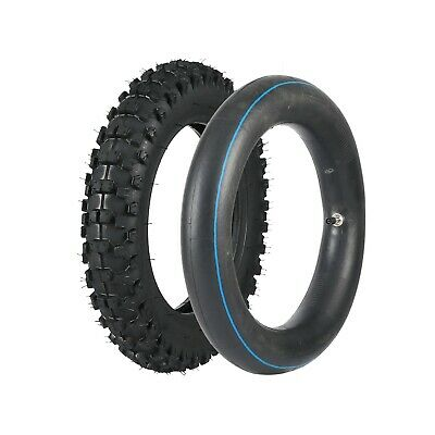 """80/100-10"""" 3.00- 10"""" Rear Knobby Tyre Tire & Tube for Pit Dirt Bike PW50 CRF50"""