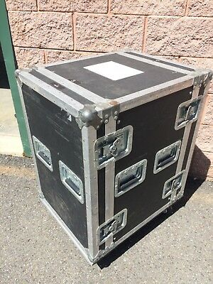 Anvil Cases Heavy Duty ATA Road Case Rolling Amp Amplifier Rack 16 space sp