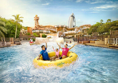 WILD WADI all day general admission 1.1m & above 2019