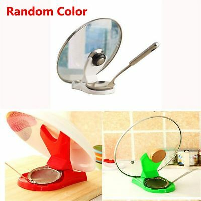 Kitchen Home Shelf Cooking Storage Kitchen Spoon Pot Lid Tools Stand Holders