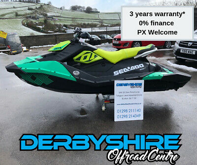SEADOO SPARK TRIXX 3up 90hp Ibr 2019 Jet Ski trailer ALL MODELS IN STOCK