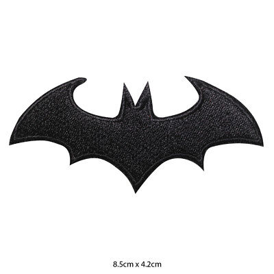 Batman Super Hero Movie Embroidered Patch Iron on Sew On Badge For Clothe etc