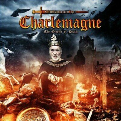Christopher Lee-Charlemagne: The Omens of Death (UK IMPORT) CD NEW