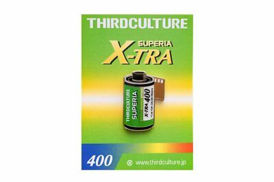 ThirdCulture Superia X-Tra 400 Photography Lapel Pin - FLAT-RATE AU SHIPPING!