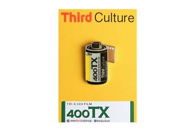 ThirdCulture Tri-X 400 Photography Lapel Pin - FLAT-RATE AU SHIPPING!