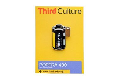 ThirdCulture Portra 400 Photography Lapel Pin - FLAT-RATE AU SHIPPING!