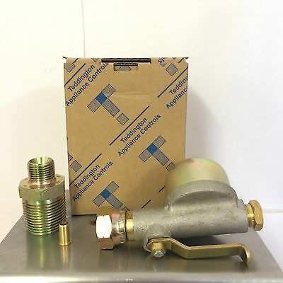 Teddington Filter Valve Pack Fitting Kit For Bottom Outlet Heating Oil Tank