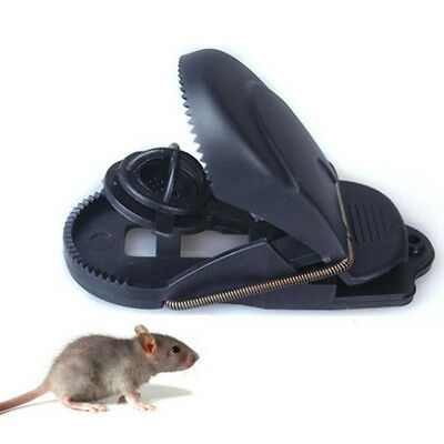 Mice Snap Rat Catching Reusable Spring Bait Sensitive Clamp Plastic Mouse Trap