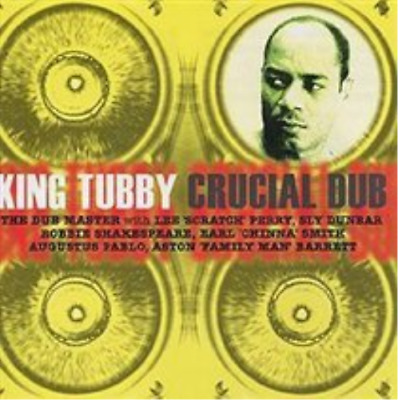 King Tubby-Crucial Dub (UK IMPORT) CD NEW