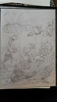 Thundercats 2011 Original Comic Art