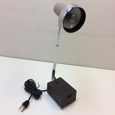VTG‼ 1960's LIGHTOLIER Lytebeam #8034 Telescoping Desk Lamp Mid Century • Works‼