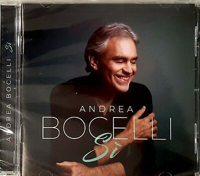 ANDREA BOCELLI Brand New CD - Si