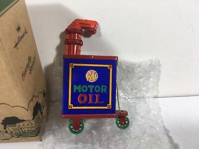 Hallmark Kiddie Car Corner Collection KC's Motor Oil NIB