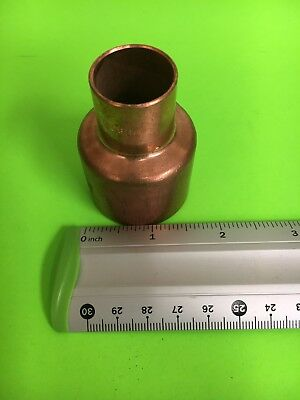 "Nibco 1-1/2"" FITTING (Street) x 3/4"" Copper Reducer Sweat Solder Pressure NEW"