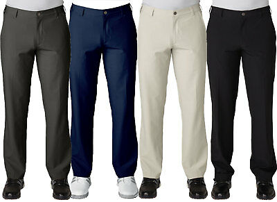 2ec4dc45 ADIDAS GOLF FLAT Front Pants Mens NWT Comfortable - Choose Color ...