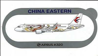Sticker Autocollant Airbus A320 China Eastern