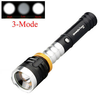 Super Bright 3 Mode XML T6 LED 18650 Rechargeable Flashlight Torch Portable Lamp