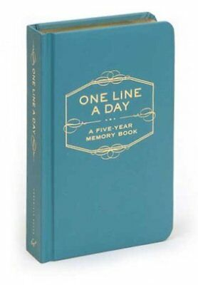 One Line a Day : A Five-Year Memory Book by Chronicle Books Staff (2009,...