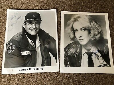 Hill Street Blues Signed Photos Betty Thomas James Sikking 8x10 Glossy