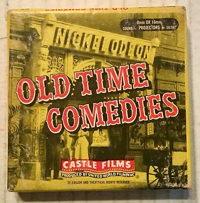 Castle Films Old Time Comedies #530 S'two For The Pot Lupino 8mm Film