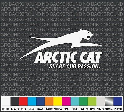 Arctic Cat Snowmobile Racing sport Car Truck Window Decal Sticker Laptop 8""