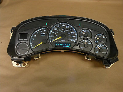 2001 chevy tahoe instrument cluster not working