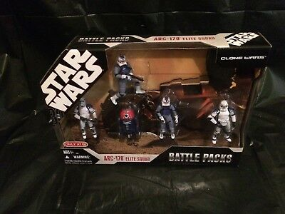 ARC-170 Elite Squad Battle Packs STAR WARS 30th Anniversary Target clone wars