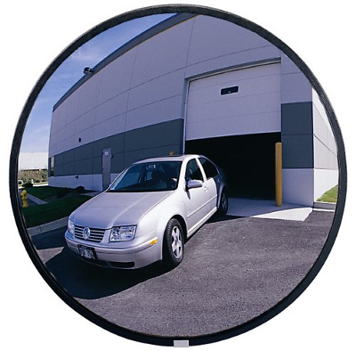 "See All NO18 Circular Glass Heavy Duty Outdoor Convex Security Mirror, 18"" Pack"