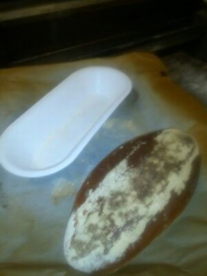 1x Small Oval Tram line  Banneton Bread Proofing Proving Basket ,Sour Dough