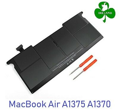 """Replace Apple A1375 For MacBook Air 11"""" A1370 Mid-2010 Battery MC505 MC506"""