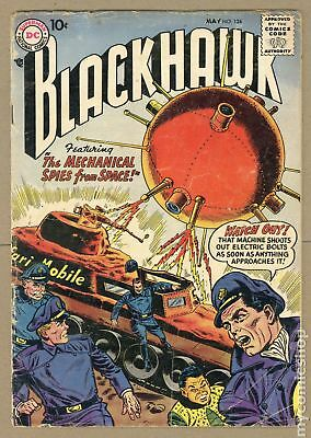 Blackhawk (1st Series) #124 1958 GD 2.0