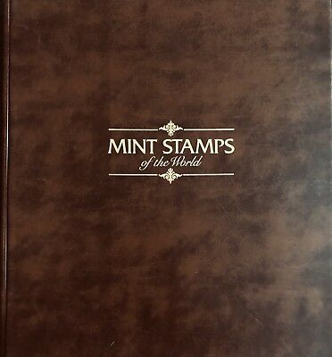 MINT STAMPS OF THE WORLD COLLECTION 2 Books / 54 Complete Sheets