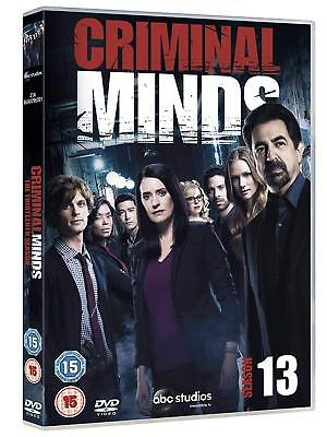 Criminal Minds Season 13 DVD Brand New & Sealed Free Postage Box Set Region 2