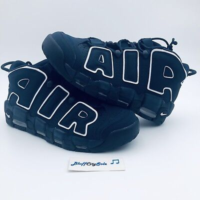 the best attitude 38968 1c448 Nike Air More Uptempo 96 Obsidian Premium Basketball 921948-400 Men s Size  11.5